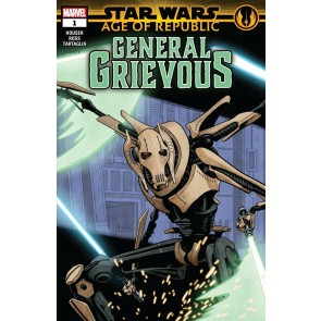 Star Wars: Age of Republic - General Grievous (2019) #1 VF/NM Paolo Rivera Cover