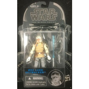 "Star Wars Black Series (2014) #2 Luke Skywalker 3.75"" figure Hasbro"