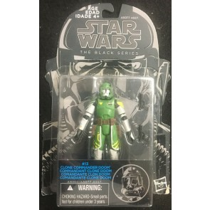 "Star Wars Black Series (2014) #13 Clone Commander Doom 3.75"" figure Hasbro"