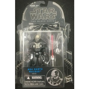 "Star Wars Black Series (2014) #4 Darth Malgus 3.75"" figure Hasbro"
