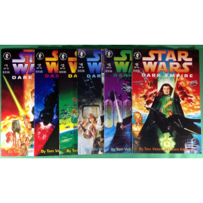 Star Wars Dark Empire (1991) 1 2 3 4 5 6 VF/NM (9.0) complete set