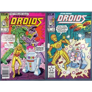 Star Wars Droids (1986) 1 2 3 4 5 6 7 8 VF/NM complete set Marvel Star comics