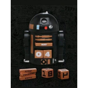 Star Wars Imperial Droid R2-Q5 Perpetual Calendar 2017 NYCC Hallmark Exclusive