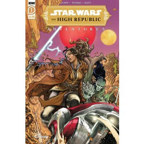 Star Wars: The High Republic Adventures (2021) #1 VF/NM Harvey Tolibao Cover IDW