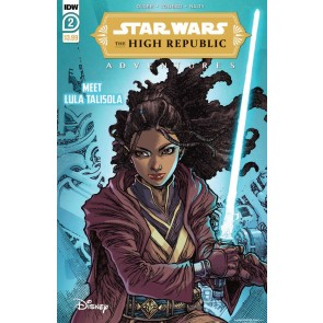 Star Wars: The High Republic Adventures (2021) #2 VF/NM Harvey Tolibao Cover IDW