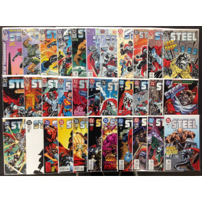 Steel (1994) 0,1-32 VF/NM (9.0) complete 33 issue run Superman Milestone