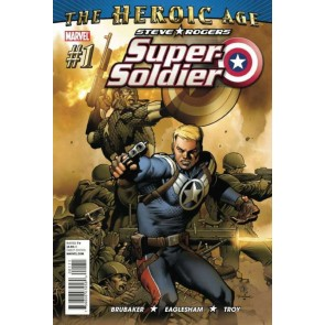 Steve Rogers: Super Soldier (2010) #1 of 4 VF/NM Ed Brubaker