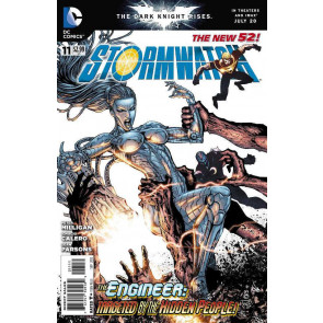STORMWATCH #11 VF/NM THE NEW 52!