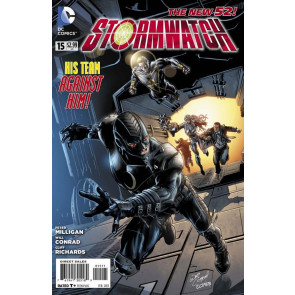 STORMWATCH #15 NM THE NEW 52!