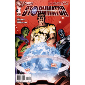 STORMWATCH (2011) #1 FN/VF SECOND PRINTING THE NEW 52!