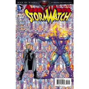 STORMWATCH #21 VF+ - VF/NM THE NEW 52!
