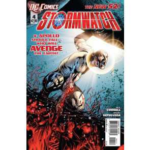 STORMWATCH #4 VF/NM THE NEW 52!
