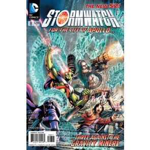 STORMWATCH #8 VF/NM THE NEW 52!