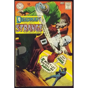 STRANGE ADVENTURES #212 FN+ NEAL ADAMS DEADMAN