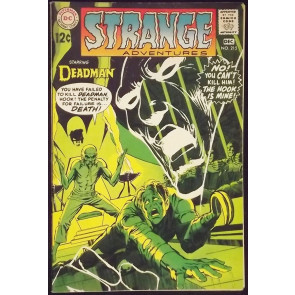 STRANGE ADVENTURES #215 FN/VF NEAL ADAMS DEADMAN