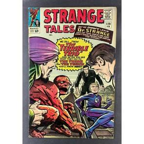 Strange Tales (1951) #129 FN/VF (7.0) Terrible Trio Human Torch Thing Jack Kirby