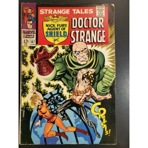 Strange Tales #157 (1967) VG/F (5.0) 1st App. of The Living Tribunal (Cameo)|