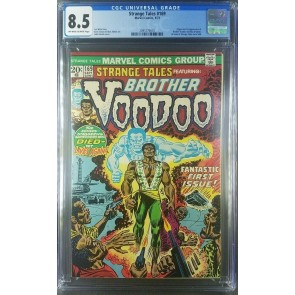 Strange Tales #169 (1973) CGC 8.5 VF+ W/OW 1st Brother Voodoo Marvel 2095779010|