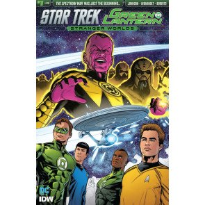 Star Trek/Green Lantern: Stranger World's (2016) #1 VF/NM IDW DC