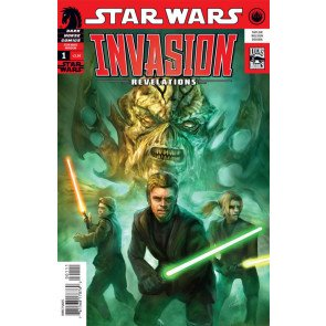 STAR WARS INVASION REVELATIONS #1 NM DARK HORSE
