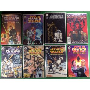 Star Wars Lot of 178 comics 29 sets 7 near complete sets 7 one shots Dark Horse