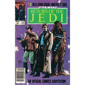 Star Wars Return of the Jedi (1983) #1 2 3 4 VF/NM-NM Newsstand High Grade Set