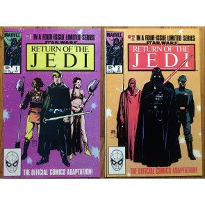 Star Wars Return of the Jedi (1983) #1 2 3 4 NM (9.4) set Sienkiewicz Williamson