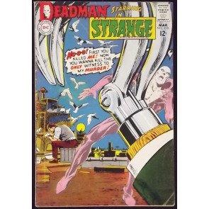 STRANGE ADVENTURES #210 VG+ NEAL ADAMS DEADMAN