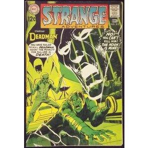 STRANGE ADVENTURES #215 FN/VF NEAL ADAMS DEADMAN