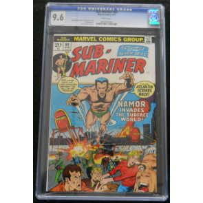 SUB-MARINER #60 CGC GRADED 9.6 WHITE PAGES