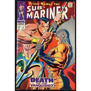 Sub-Mariner (1968) #6 VF (7.5) 2nd App Tiger Shark