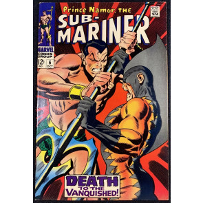 Sub-Mariner (1968) #6 VF (7.5) 2nd Appearance Tiger Shark