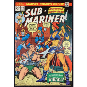 Sub-Mariner (1968) #64 VF (8.0) VS Viragu Worrior Woman