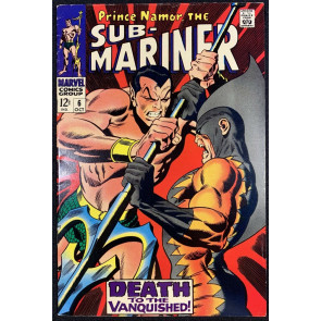 Sub-Mariner (1968) #6 FN/VF (7.0) 2nd App Tiger Shark