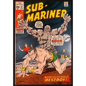 Sub-Mariner (1968) #41 VF/NM (9.0)