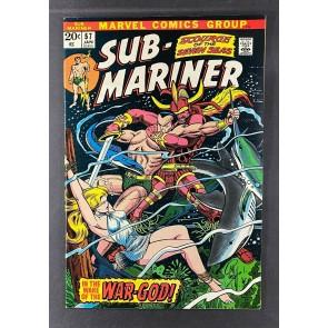Sub-Mariner (1968) #54 FN/VF (7.0) 1st App Victoria Starr (Venus) Bill Everett