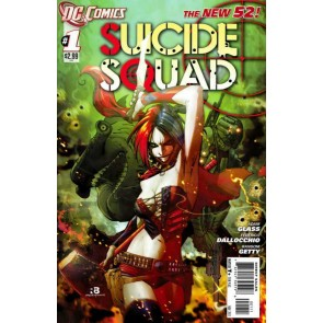Suicide Squad (2011) #'s 1 & 2 NM 1st Printings The New 52 Harley Quinn