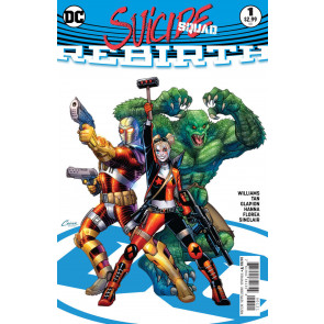 Suicide Squad Rebirth (2016) #1 VF+ (8.5) Amanda Conner cover