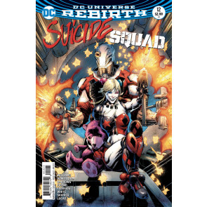 Suicide Squad (2016) #12 VF/NM Whilce Portacio Cover DC Universe Rebirth