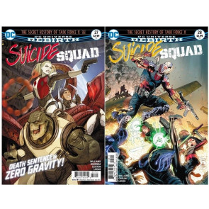 Suicide Squad (2016) #27 28 29 30 - 32 33 34 35 36 37 38 39 40 41 42 VF/NM Set