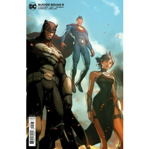 Suicide Squad (2021) #6 VF/NM Gerald Parel Variant Cover