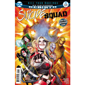 "Suicide Squad (2016) #'s 21 22 24 25 Near Complete ""Kill Your Darlings"" Set"