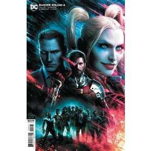 Suicide Squad (2020) #4 NM (9.4) Jeremy Roberts Variant Cover B