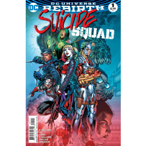 Suicide Squad (2016) #1 VF/NM Jim Lee Cover DC Universe Rebirth
