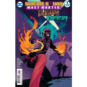 Suicide Squad Most Wanted: El Diablo and Boomerang (2016) #1 of 6 VF/NM Cover A