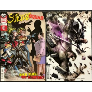 Suicide Squad (2016) #48 NM (9.4) regular & variant cover set