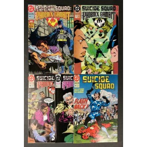 "Suicide Squad (1987) #'s 40 41 42 43 44 ""Phoenix Gambit"" VF/NM Set Batman"