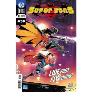 Super Sons (2017) #15 VF/NM Jorge Jimenez Cover DC Universe