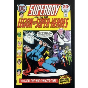 Superboy (1949) #198 VF (8.0) starring Legion of Super-Heroes