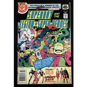 Superboy (1949) #247 FN/VF (7.0) starring Legion of Super-Heroes
